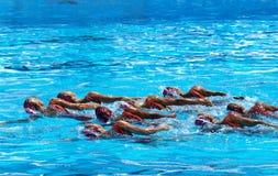 campeonato 2009 del mundo 13FINA imagen de archivo libre de regalías