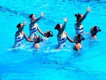 Campeonato 2009 del mundo de FINA Foto de archivo