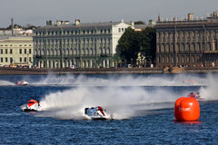 Campeonato 2009 del mundo del Powerboat de la fórmula 1 Imágenes de archivo libres de regalías