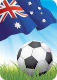 Campeonato 2010 do futebol do mundo - Austrália Imagens de Stock Royalty Free