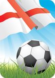 Campeonato 2010 do futebol do mundo - Inglaterra Fotos de Stock
