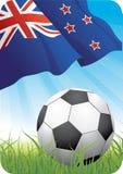 Campeonato 2010 do futebol do mundo - Nova Zelândia Foto de Stock Royalty Free
