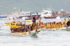 Campeonato 2012 del barco del dragón de Hong-Kong Int'l Imagenes de archivo