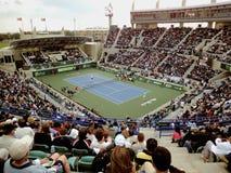 Campeonato Abu Dhabi 2011 del tenis del mundo de Mubadala fotografía de archivo libre de regalías