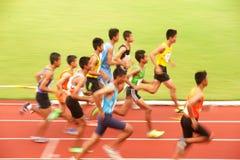 campeonato atlético aberto 2013 de 1.500 m.in Tailândia. Imagens de Stock
