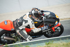 CAMPEONATO CATALAN DO MOTOCICLISMO Imagem de Stock Royalty Free