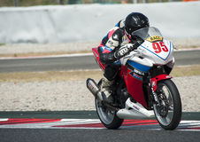 CAMPEONATO CATALAN DO MOTOCICLISMO Fotografia de Stock Royalty Free