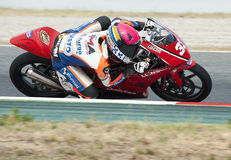 CAMPEONATO CATALAN DO MOTOCICLISMO Foto de Stock Royalty Free