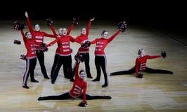Campeonato Cheerleading de Finlandia 2010, Foto de Stock