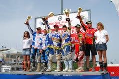 Campeonato cruzado 2008 del mundo del coche lateral Imagen de archivo libre de regalías