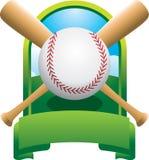 Campeonato cruzado do basebol do bastão Fotografia de Stock