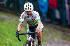 Campeonato Cyclocross - Heusden-Zolder, Bélgica del mundo de UCI foto de archivo libre de regalías