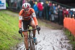 Campeonato Cyclocross - Heusden-Zolder, Bélgica del mundo de UCI Imagen de archivo libre de regalías