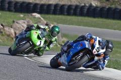 Campeonato de Canadá Superbike de las piezas (alrededor de 1) pueda Foto de archivo