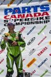 Campeonato de Canadá Superbike de las piezas (alrededor de 1) pueda Imagen de archivo