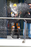 Campeonato de CEV, em novembro de 2011 Fotografia de Stock