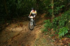 Campeonato de ciclagem nacional 2009 de Singapore Fotos de Stock
