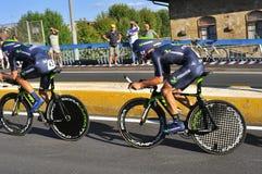 Campeonato de ciclo del mundo en Florencia, Italia Foto de archivo libre de regalías