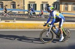 Campeonato de ciclo del mundo en Florencia, Italia imagenes de archivo