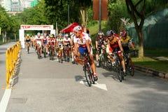 Campeonato de ciclo nacional 2009 de Singapur fotografía de archivo libre de regalías