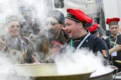 Campeonato de cocinar al aire libre Imagen de archivo