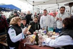 Campeonato de cocinar al aire libre Foto de archivo