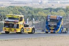 Campeonato de competência do caminhão de 2014 europeus Imagens de Stock