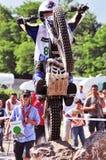 Campeonato de ensayo 2008 del mundo de la FIM Spea - Tolmezzo Foto de archivo libre de regalías