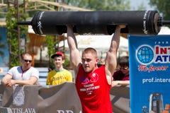 Campeonato de homens fortes de Ucrânia Imagem de Stock