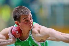 Campeonato de interior 2011 del atletismo Imagen de archivo libre de regalías