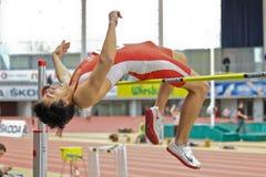 Campeonato de interior 2012 Foto de archivo libre de regalías