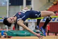 Campeonato de interior 2012 Imagen de archivo libre de regalías