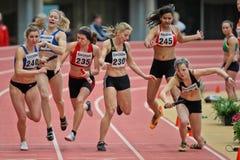 Campeonato de interior 2012 Fotografía de archivo