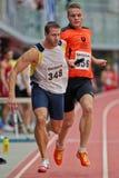 Campeonato de interior 2012 Fotografía de archivo libre de regalías