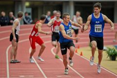 Campeonato de interior 2012 Foto de archivo