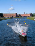 Campeonato de la palabra del barco de motor Imagenes de archivo