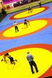 Campeonato de lucha 2011 del cadete asiático Fotos de archivo