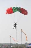 Campeonato de salto de paraquedas militar do mundo Imagem de Stock Royalty Free