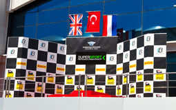 Campeonato de Supersport do mundo Imagem de Stock Royalty Free
