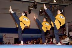 Campeonato de Taekwondo Poomsae do mundo de WTF Imagem de Stock