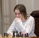 Campeonato del ajedrez del mundo de las mujeres Lviv 2016 Fotos de archivo libres de regalías