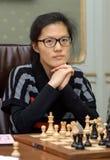 Campeonato del ajedrez del mundo de las mujeres Lviv 2016 Imagen de archivo libre de regalías