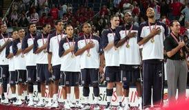 Campeonato del baloncesto del mundo Imagen de archivo libre de regalías