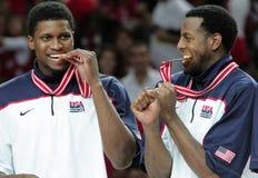 Campeonato del baloncesto del mundo imagen de archivo