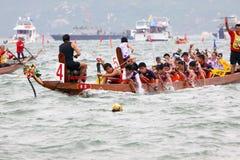 Campeonato del barco del dragón de Hong-Kong Stanley Int'l Imágenes de archivo libres de regalías