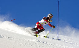 Campeonato del esquí en Jahorina Fotografía de archivo