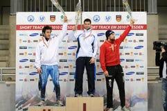 Campeonato del europeo de la pista de 2010 cortocircuitos Imágenes de archivo libres de regalías