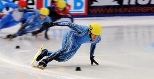 Campeonato del europeo de la pista de 2010 cortocircuitos imagenes de archivo