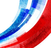 Campeonato 2016 del fútbol de Francia del euro con colores de la bandera de Francia Vector Foto de archivo libre de regalías