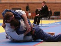 Campeonato del judo Imagen de archivo libre de regalías